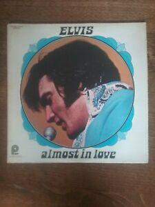 ELVIS PRESLEY 33 Tours   ALMOST IN LOVE