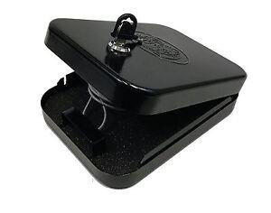 Handgun Safe Portable Gun Vault Pistol Lock Box Travel Car Truck