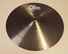 "Bosphorus 20th anniversary 16"" Crash Becken Cymbal Messeware Musikmesse 2018"