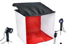 Cowboy Studio Table Top Photo Studio Light Tent Kit Carrying Case 1Tent 2 Lights