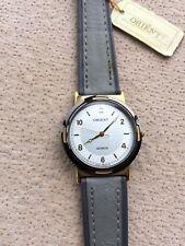 Orient Quartz Vintage Watch NOS New Old Stock 30,5 MM