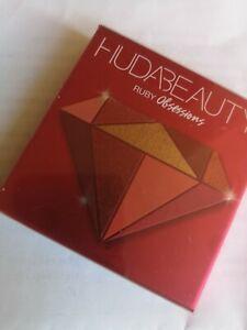 Huda Beauty Ruby Obsessions Eyeshadow Quad Palette BNIB