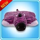 "100 Original My Pillow Pets L 18""X18"" Purple Zebra. Ready to Ship Seen OnTV"
