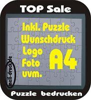 Puzzle bedrucken A4 nach Wunsch individuel 126 Teile