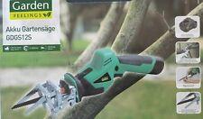 GARDEN FEELINGS Akku-Gartensäge-werkzeugloser Sägeblattwechsel-***NEU&OVP***