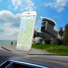 Car Phone Mount Universal Cell Phone Holder Suction on Windshield 360°Rotation