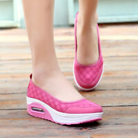 Womens Walking Air Cushion Sneakers Size 5 6 7 8 9 10 11 Casual Breathable Shoes