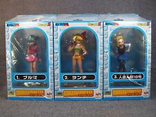 Super Rare DRAGON BALL Z Charavignette Figure Set of 3 MegaHouse Anime JAPAN