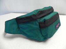 JanSport Adjustable Fanny Waist Pack Vintage 90's Turquios USA Made Hiking