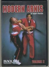 Modern Arnis by Remy Presas, Vol. 2 - Filipino stick fighting - gently used DVD!