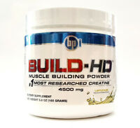 BPI Sports BUILD-HD 30 servings Lemonade Nr1 Creatine