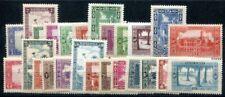 ALGERIE 1936 YVERT 101-12,113a-20,122 -26 ** (f0082