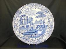 """Spode Blue Italian LARGE 12"""" Cake / Serving Plate Made in England           S916"""
