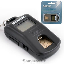 Tester für Hörgerätebatterien von Rayovac mit Aufbewahrungsfach