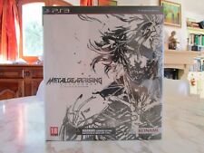 Metal Gear Rising Revengeance Collector Limited Zavvi Exclusive Edition PS3 NEW