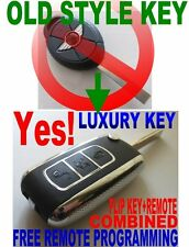 LUXURY FLIP KEY REMOTE FOR 2005-2007 MINI COOPER ALL MODELS BRAND NEW CHIP FOB