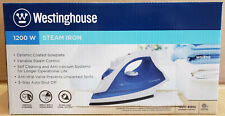Westinghouse Professional Steam Iron with 9.5 Ounce Water Tank 1200 Watts WS1800