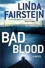 Bad Blood by Linda Fairstein (Hardcover)