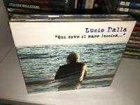 LUCIO DALLA QUI DOVE IL MARE BOX 3 CD NUOVO SIGILLATO/SEALED FUORI CATALOGO