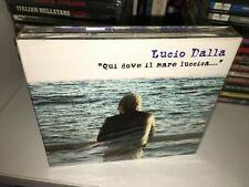 LUCIO DALLA QUI DOVE IL MARE BOX 3 CD NUOVO SIGILLATO/SEALED
