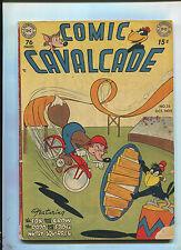 COMIC CAVALCADE #35 (3.5) HTF 1949