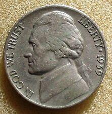 1939-P Jefferson Nickel   Fine