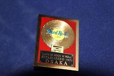 OSAKA GOLD RECORD ESTABLISHED 1971 HARD ROCK CAFE PIN