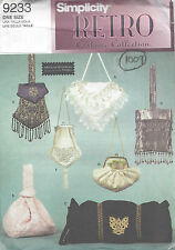 1950s Vintage Sewing Pattern BAGS & MUFF (1009)