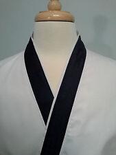 Happi coat, sushi coat, sushi chef coat, serving coat, Navy on White