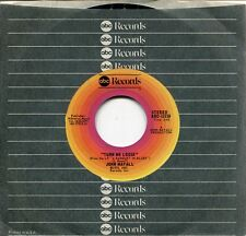 "JOHN MAYALL - 7"" Turn Me Loose / Sunshine (USA,ABC,1976)"