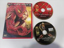 SPIDER-MAN 2 - 2 X DVD + EXTRAS MARVEL ENGLISH ESPAÑOL FRANCAIS REGION 2