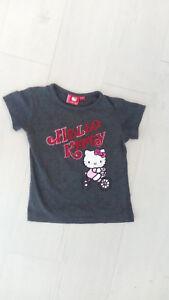 T-shirt Hello Kitty gris 4 ans