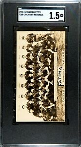 1913 T200 Fatima Cincinnati Nationals Mordecai Brown SGC 1.5 !!!