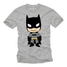 cd235d283d0dc1 Cooles Super Bat Nerd Herren T-Shirt mit Funky Hero Man - Männer Geek Shirt
