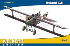 EDUARD 1/48 Roland CII BiPlane Fighter (Wkd Edition Plastic Kit  EDU8445