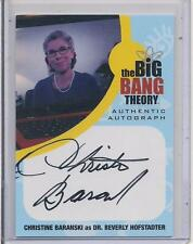 BIG BANG THEORY - SEA 6&7 - CHRISTINE BARANSKI as BEVERLY HOFSTADTER Auto - CB1