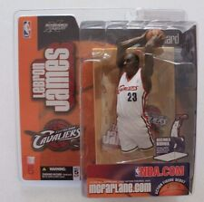 Lebron James Cleveland Cavaliers McFarlane Action Figure Series 5 White Jersey