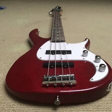Red Peavy Milestone Bass Guitar - fantastic condition. Comes with accessories.
