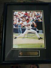 Atlanta Braves Kevin Milwood autographed framed picture COA