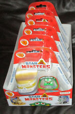 6x Magic Box Star Monsters Series 1 Blister Packs of 5 Monsters - Contents Vary*