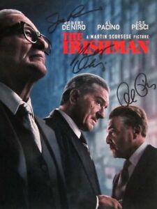 Robert De Niro / Pacino / Pesci Autographed Signed 8x10 Photo ( Irish ) REPRINT