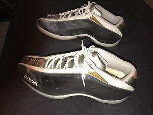 Super Rare Dada Supreme CDubbz #0079 Of 02/03 Season Silver/Chrome Shoes Size:14