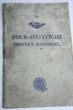 RILEY RARE FOUR-SIXTYEIGHT DRIVERS HANDBOOK