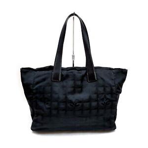Chanel Tote Bag  Black Nylon 1428759