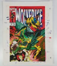 Original Color Guide Cover Artwork - Marvel Comics' Wolverine #71