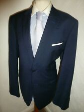 ted baker blue winter suit elevated arundel 2 piece fall 42 jacket x 36 trousers