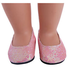 Best sweet girl Gift shoes  for 18inch American girl doll party n551