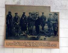 1927 Japan Sends A Medal To Lt Leigh Wade, Round The World Flight