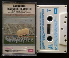 Favourite Marches Revisited - The Band Royal Australian Navy Tape Cassette (C23)