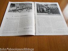 1930 IL TRENO AZZURRO DEL GRANO MUSSOLINI DUCE AGRICOLTURA ROMA PIAZZA VENEZIA